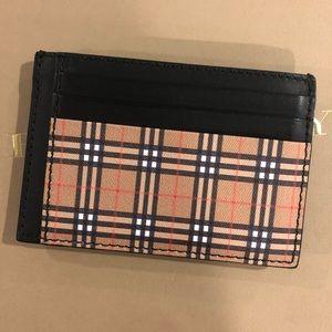 Men's Burberry Money Clip Wallet